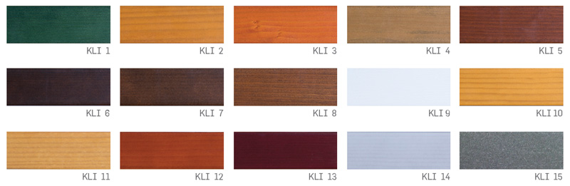 Barvna paleta kli logatec