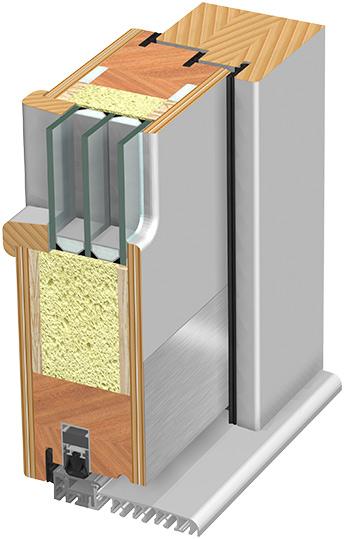 Nizkoenergijska vhodna vrata - tehnika