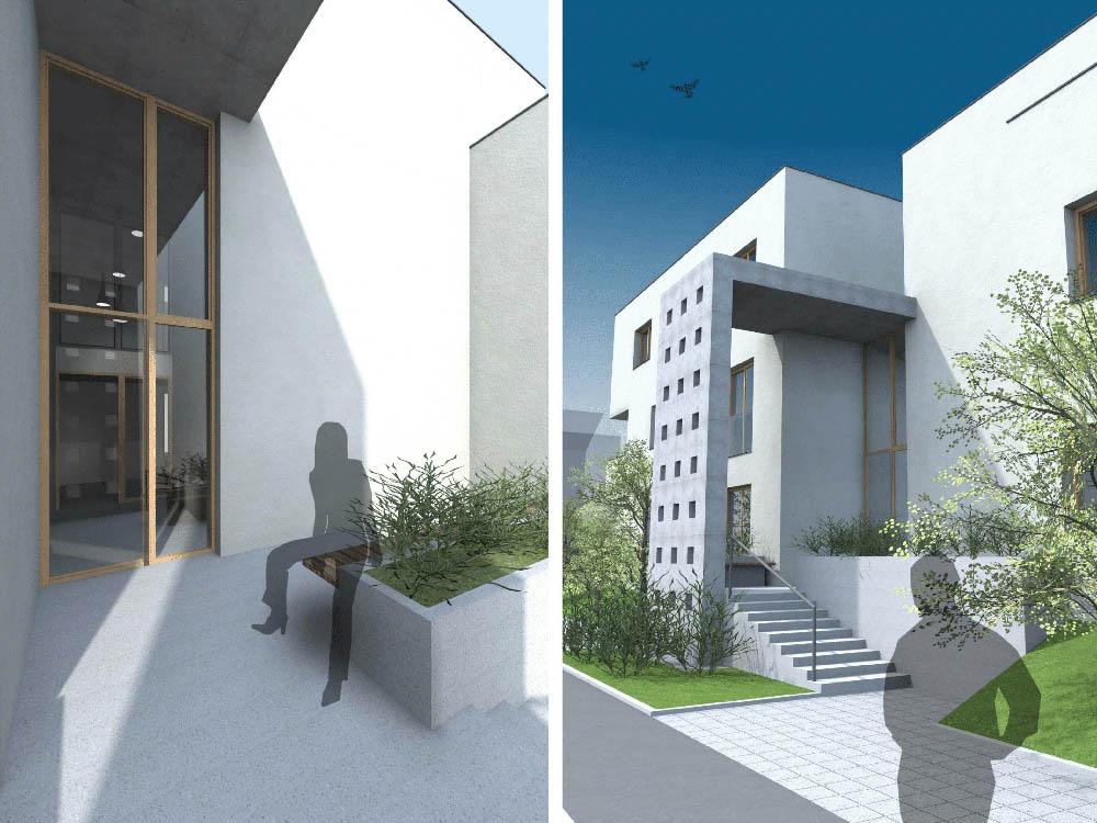 Sodobna rezidenca z okni Kli Quadro 78
