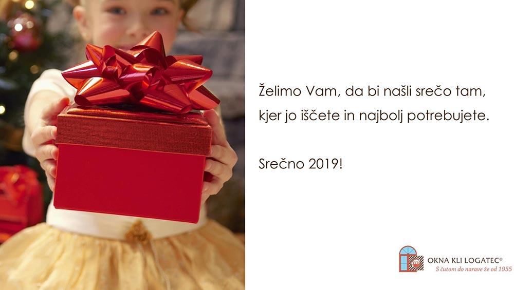 Srečno 2019!
