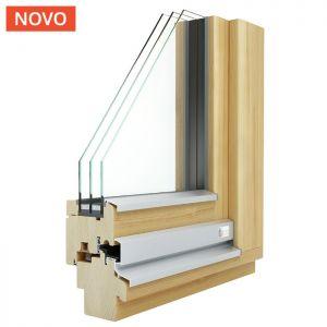 KLI Quadro 78 - kvalitetno leseno okno