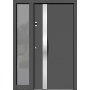 Alu/les vhodna vrata KLI HA 101 + ST