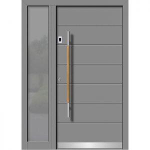 Alu/les vhodna vrata KLI HA 103 + ST