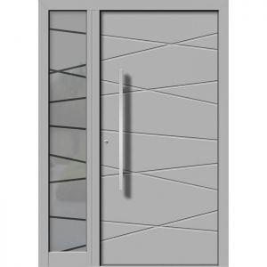 Alu/les vhodna vrata KLI HA 105 + ST