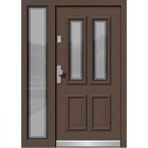 Alu les vhodna vrata KLI HA 501 + ST