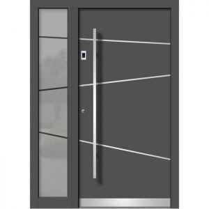 Alu/les vhodna vrata KLI HA 106E + ST