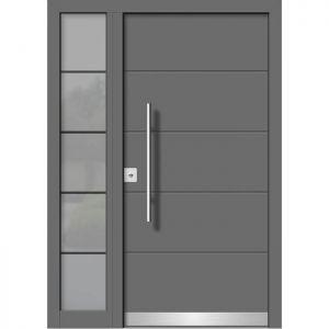 Alu/les vhodna vrata KLI HA 107 + ST