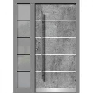 Alu/les vhodna vrata KLI HA 107E + ST