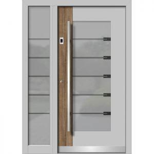 Alu/les vhodna vrata KLI HA 108 + ST