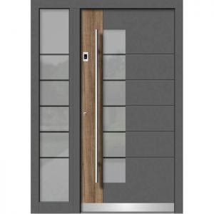 Alu/les vhodna vrata KLI HA 111 + ST