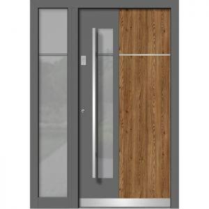 Alu/les vhodna vrata KLI HA 116E + ST