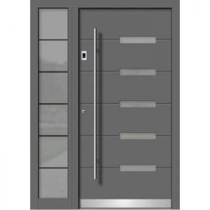 Alu/les vhodna vrata KLI HA 119 + ST