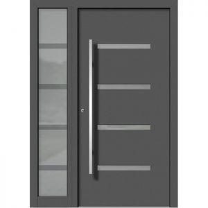 Alu/les vhodna vrata KLI HA 121 + ST