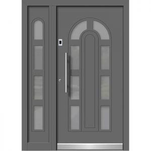 Alu les vhodna vrata KLI HA 504 + ST