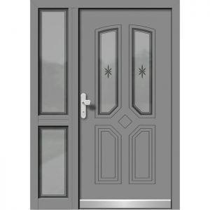 Alu les vhodna vrata KLI HA 507 + ST