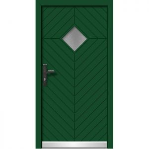 Alu les vhodna vrata KLI HA 509