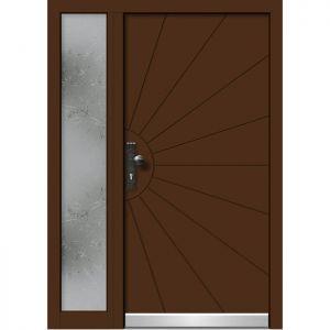 Alu les vhodna vrata KLI HA 510 + ST