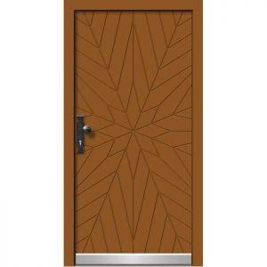 Alu les vhodna vrata KLI HA 511