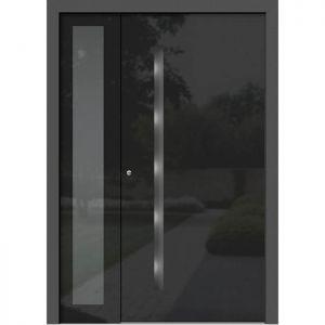 Alu les vhodna vrata KLI HA 301 + ST