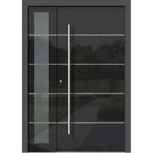 Alu les vhodna vrata KLI HA 302 + ST