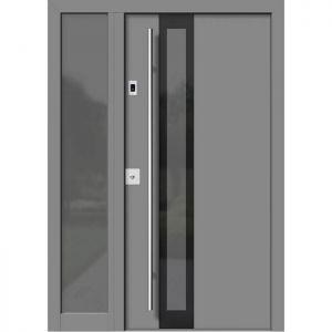 Alu les vhodna vrata KLI HA 307 + ST