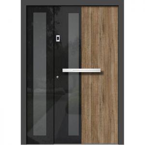 Alu les vhodna vrata KLI HA 310 + ST