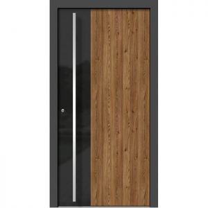 Alu les vhodna vrata KLI HA 311