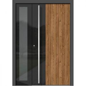Alu les vhodna vrata KLI HA 311 + ST