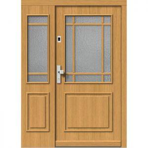 Lesena vhodna vrata KLI  H 503 + ST