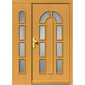 Lesena vhodna vrata KLI  H 504 + ST
