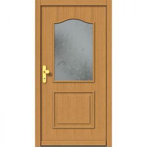 Lesena vhodna vrata KLI  H 505
