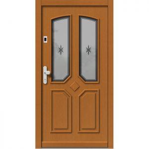 Lesena vhodna vrata KLI  H 507