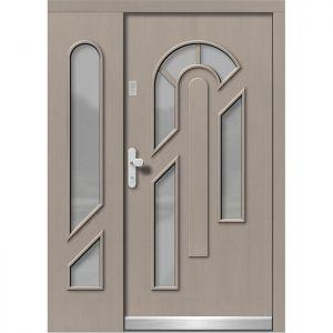 Lesena vhodna vrata KLI  H 508 + ST
