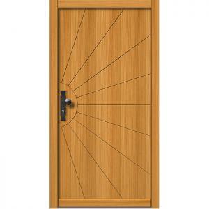 Lesena vhodna vrata KLI  H 510
