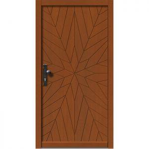 Lesena vhodna vrata KLI  H 511