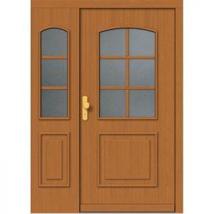 Lesena vhodna vrata KLI  H 516 + ST