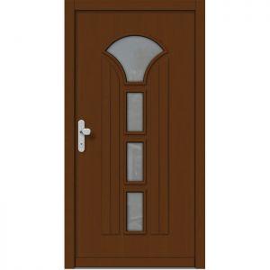 Lesena vhodna vrata KLI  H 518