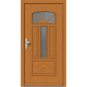 Lesena vhodna vrata KLI  H 532