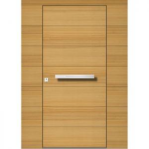 Lesena vhodna vrata KLI H 103 + 2ST