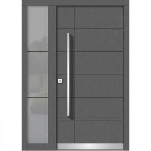 Lesena vhodna vrata KLI H 104 + ST