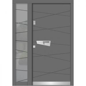 Lesena vhodna vrata KLI H 105 + ST