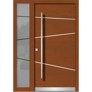 Lesena vhodna vrata KLI H 106E + ST