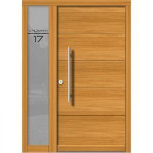 Lesena vhodna vrata KLI H 107 + ST