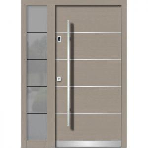 Lesena vhodna vrata KLI H 107E + ST