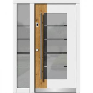 Lesena vhodna vrata KLI H 108 + ST