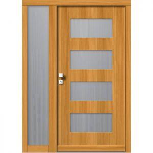 Lesena vhodna vrata KLI H 109 + ST