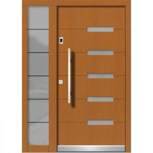 Lesena vhodna vrata KLI H 119 + ST