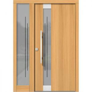 Lesena vhodna vrata KLI H 122E + ST