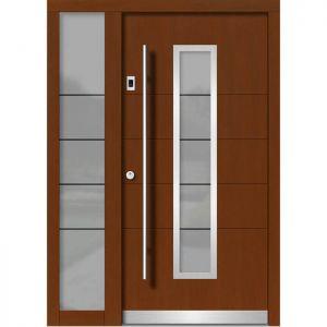 Lesena vhodna vrata KLI H 125E + ST