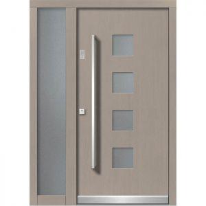 Lesena vhodna vrata KLI H 126 + ST